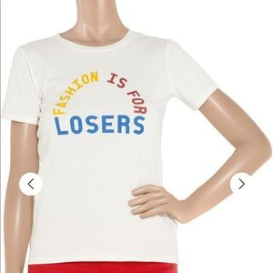 A.P.C. APC fashion is for losers tee t-shirt M